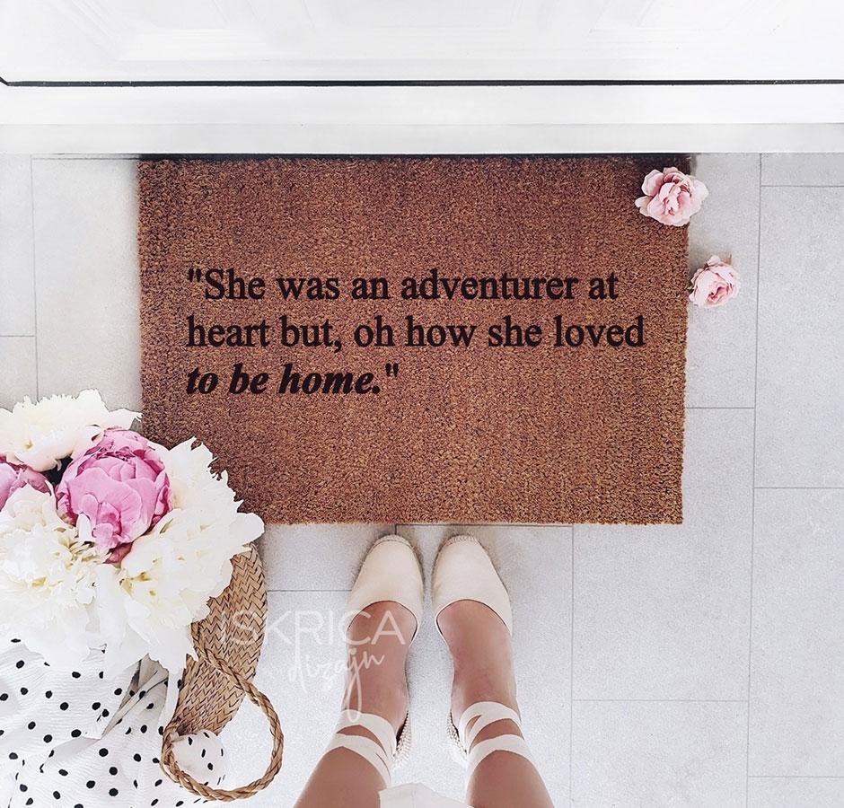 She was an adventurer at heart